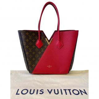 Louis Vuitton Red Monogram Kimono MM Tote Bag
