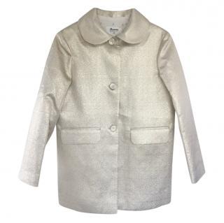 Bonpoint Kids 12Y Gold Jacket