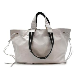 Isabel Marant White 'Wydra' Tote Bag