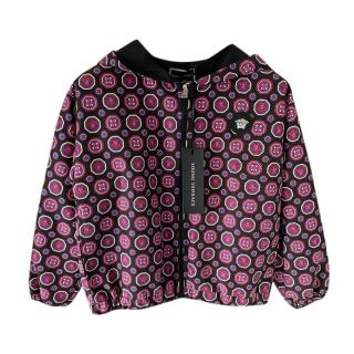 Young Versace Kids 4Y Hooded Rain Jacket