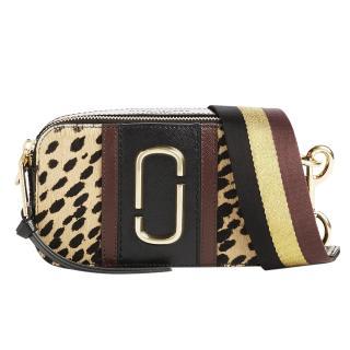 Marc Jacobs Snapshot Leopard Print Haircalf Camera Bag