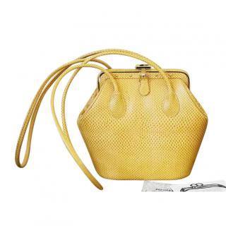 Judith Lieber vintage lizard shoulder bag