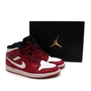 Nike Air Jordan 1 Mid Trainers- Size 47.5