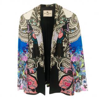 Etro Multicoloured Paisley Print Tailored Jacket