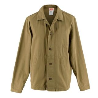 Armor Lux Green Cotton Fisherman Chore Jacket
