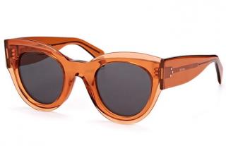 Celine CL 41447/S Tan Clear Sunglasses