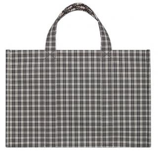 Dior Tartan/Oblique DiorDouble Reversible Tote