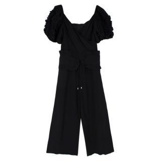 C/MEO Collective Black Linen Jumpsuit