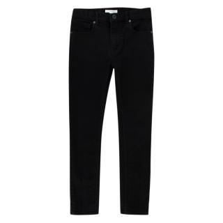 Burberry Girls Black Stretch Denim Skinny Jeans