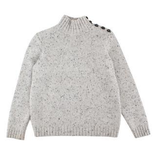 Bonpoint Boy's Cashmere Turtle Neck Sweater