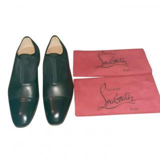 Christian Louboutin Leather & Suede Alpha Derbies