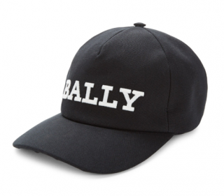 Bally Men's Logo-embroidered Baseball Hat In Black