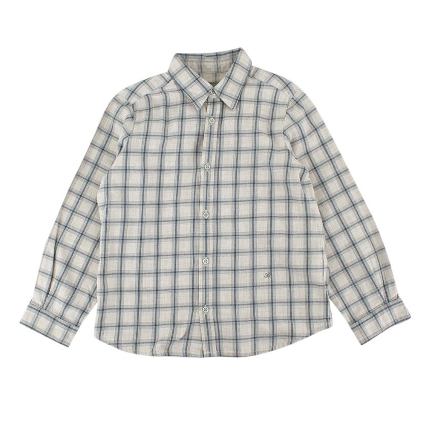 Bonpoint Kids 6Y Plaid Shirt