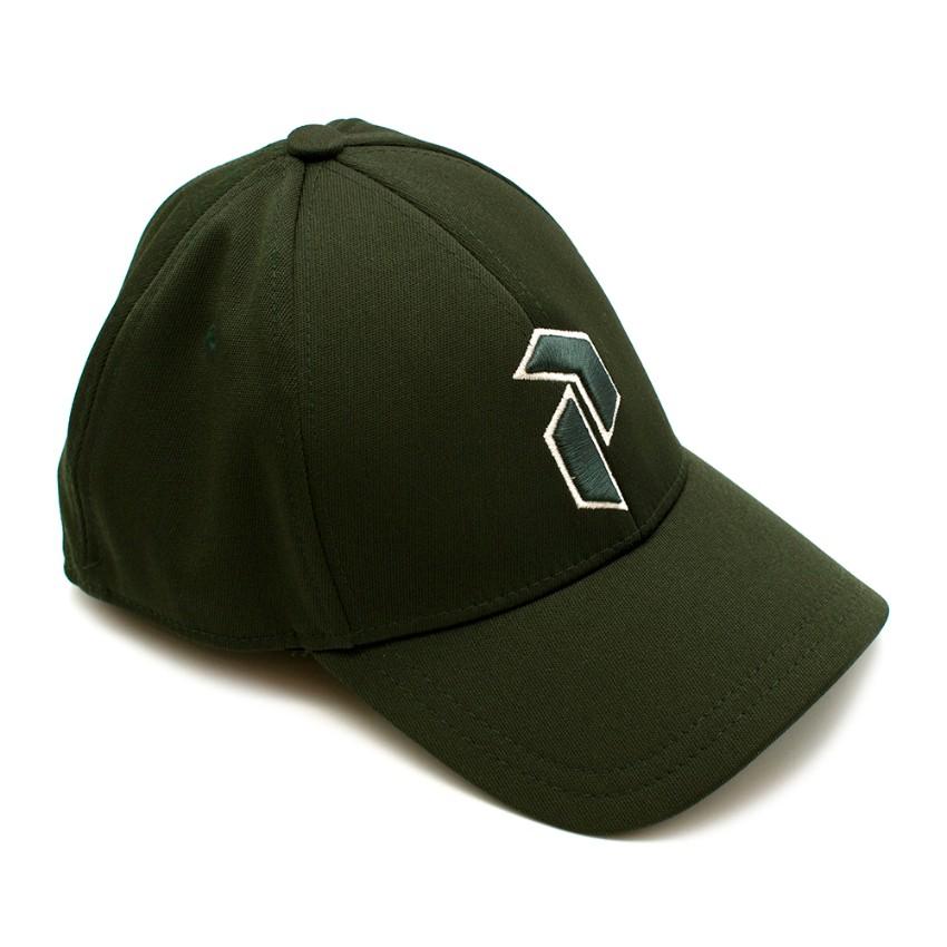 Peak Performance Green Embroidered Retro Cap