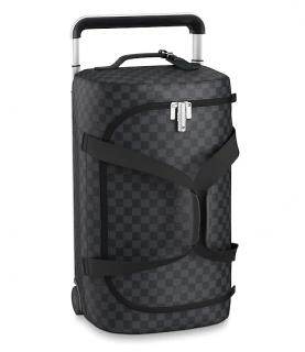 Louis Vuitton Damier Graphite Horizon Soft Duffle 2R 55