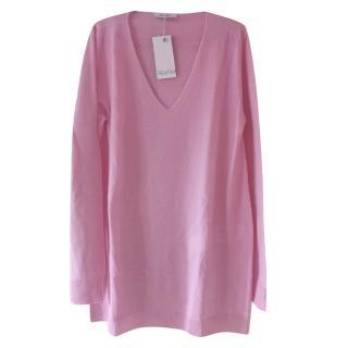 Max Mara Pink Virgin Wool Jumper