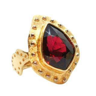 Bespoke 14ct Yellow Gold Tourmaline Ring