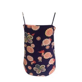 Racil Floral Print Silk Cami