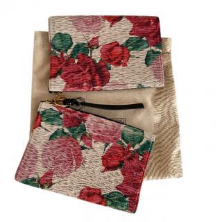 Gucci Floral Stretch Ankle Cuffs