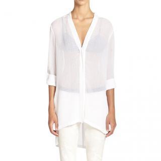 Helmut Lang White Sheet Swift Shirt