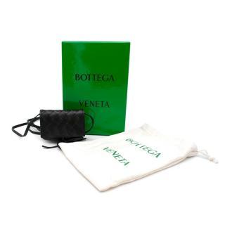 Bottega Veneta Intrecciato leather crossbody card holder