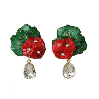 Dolce & Gabbana Strawberry Clip-On Earrings