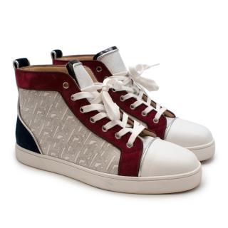 Christian Louboutin High-top Monogram sneakers