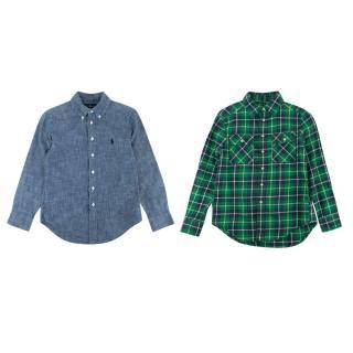 Polo Ralph Lauren Cotton Long-sleeve Shirt Set