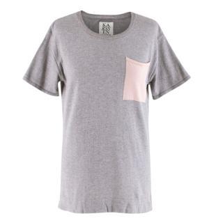 Zoe Karssen Cashmere blend Grey T-shirt