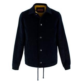 Missoni Embroidered Navy Cord Jacket