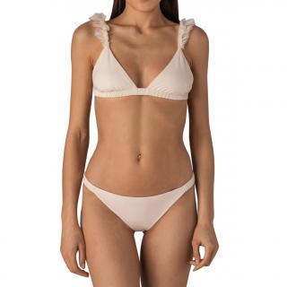 More Noir Silky Wings Classic Triangle Bikini