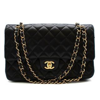 Chanel Black Lambskin Classic Double Flap