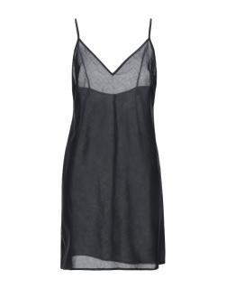 Ermanno Scervino Navy Sheer Cami Dress