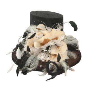 Bespoke Wide Brimmed Embellished Occasion Hat