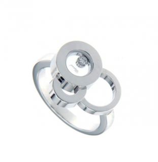 Chopard Happy Bubbles White Gold Ring