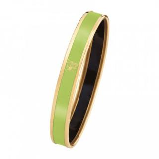Frey Wille Lime Green Mademoiselle 24kt Gold Bangle