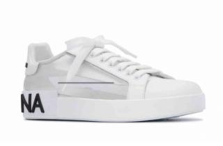 Dolce & Gabbana PVC/Leather Sneakers