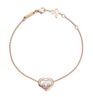 Chopard Happy Diamonds Icons Rose Gold Diamond Bracelet