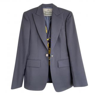 Vivienne Westwood Men's Limited Edition Navy Jacket & Waistcoat