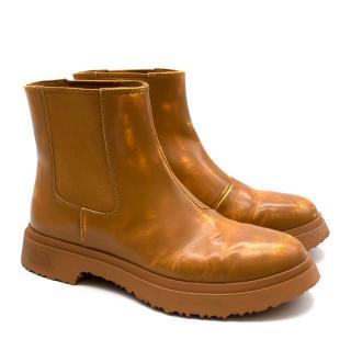 Camper Beige Walden Ankle Boots