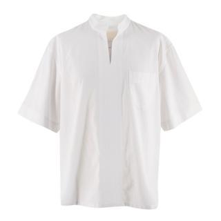 Nicholas Daley SS20 Moroccan Short Sleeve White Shirt