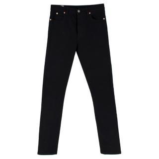 Gucci Black Denim Slim Fit Jeans