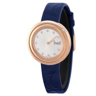 Piaget 34mm Rose Gold Possession Watch with Two Alligator Straps