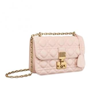 Dior powder pink Dioraddict flap bag
