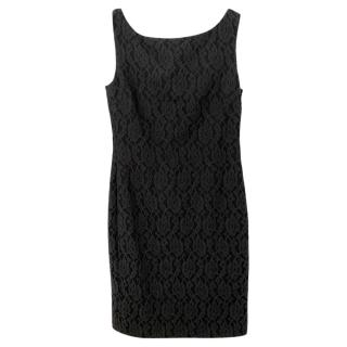 Boutique Moschino Black Mini Dress