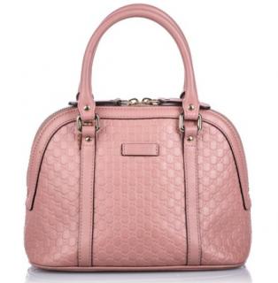Gucci Blush Pink Guccissima Mini Dome Bag