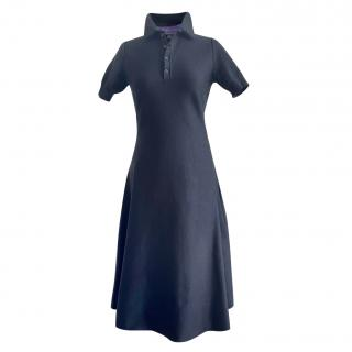 Ralph Lauren purple label black silk dress