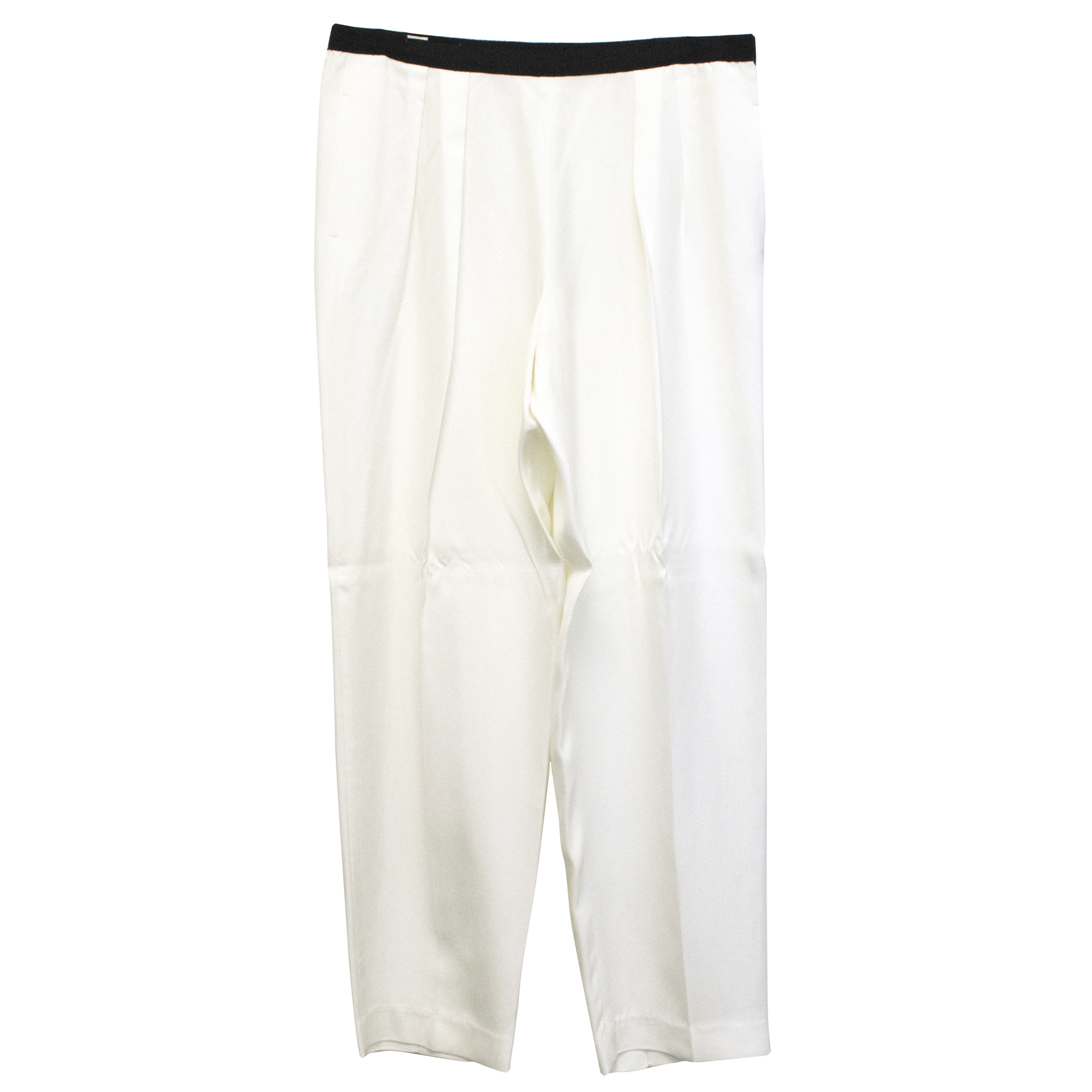 Dries Van Noten White Trousers