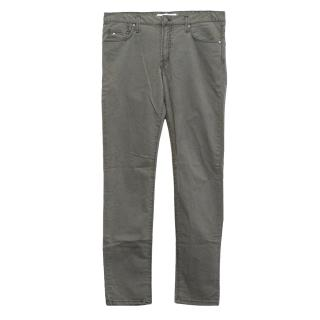 J. Lindeberg Light Grey Slim Fit Denim Jeans