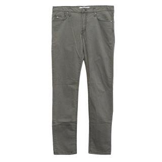 J. Lindeberg Light Grey Slim Fit Denim Jeans
